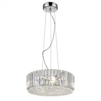 ITALUX P0360-05B-F4AC | Bradley-IT Italux stropne svjetiljke svjetiljka 5x G9 3000K krom, prozirno, zrcalo