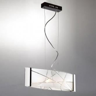 ITALUX P29366-1Y | Abigail-IT Italux visilice svjetiljka 4x G9 bijelo, krom