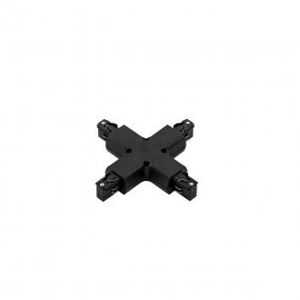 ITALUX TR-PLUS-JOINT-BL | 4-Phase-Track Italux element sustava - unakrsna utičnica rezervni dijelovi crno