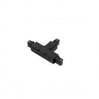 ITALUX TR-T-JOINT-BL | 4-Phase-Track Italux element sustava - T- razdjelnik rezervni dijelovi crno