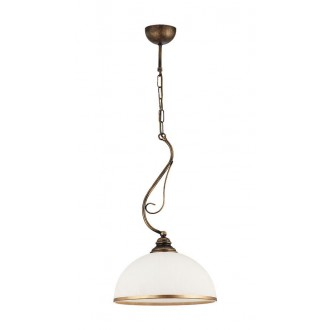 JUPITER 1174 XS 1 KOL | Xsara Jupiter visilice svjetiljka 1x E27 antik crveni bakar, bijelo