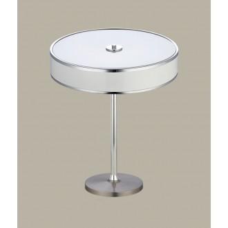 JUPITER 1225 JA G B | Jazz Jupiter stolna svjetiljka 47cm sa prekidačem na kablu 2x E14 bijelo, krom