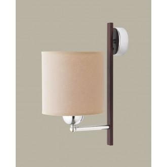 JUPITER 1271 BT K | BostonJ Jupiter zidna svjetiljka 1x E27 krom, venga, kapuchino