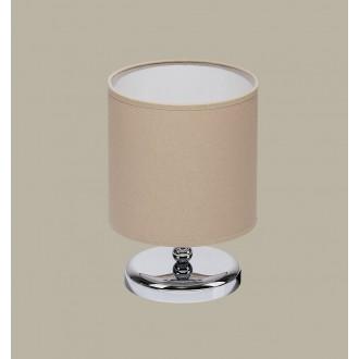 JUPITER 1272 BT L | BostonJ Jupiter stolna svjetiljka 25cm sa prekidačem na kablu 1x E27 krom, venga, kapuchino