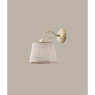 JUPITER 1355 KM K E | Kamelia Jupiter zidna svjetiljka 1x E27 ecru, krem