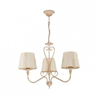 JUPITER 1591 SI 3 EC | Sofia Jupiter luster svjetiljka 3x E27 ecru, zlatno