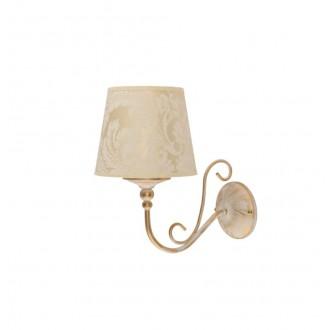 JUPITER 1593 SI K EC | Sofia Jupiter zidna svjetiljka 1x E27 ecru, zlatno
