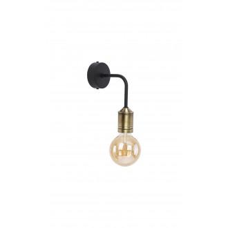JUPITER 1707 BN K PAT/CZ | Borneo Jupiter zidna svjetiljka 1x E27 mesing, crno