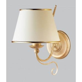 JUPITER 516 LA-K-E | LauraJ Jupiter zidna svjetiljka 1x E27 zlatno, ecru