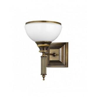 JUPITER 625 ZU K | ZeusJ Jupiter zidna svjetiljka 1x E27 patinastost bakar, bijelo
