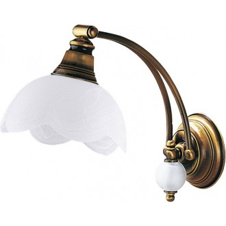 JUPITER 8 JK | JupiterJ Jupiter zidna svjetiljka 1x E27 patinastost bakar, bijelo