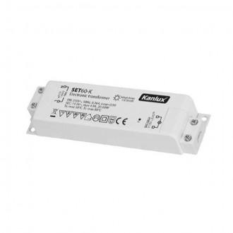 KANLUX 1425 | Kanlux električni transformator 60W 11,5V~4,9A pravotkutnik toplinski osigurač bijelo