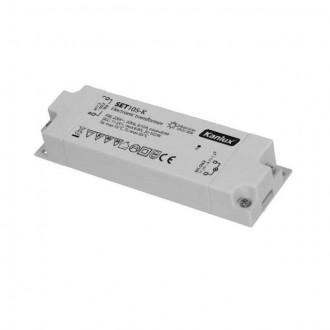 KANLUX 1426 | Kanlux električni transformator 105W 11,5V~8,8A pravotkutnik toplinski osigurač bijelo