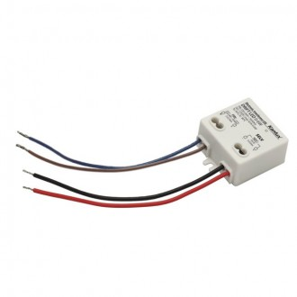 KANLUX 18040 | Kanlux LED napojna jedinica 12V DC 0-6W 0,5A četvrtast bijelo