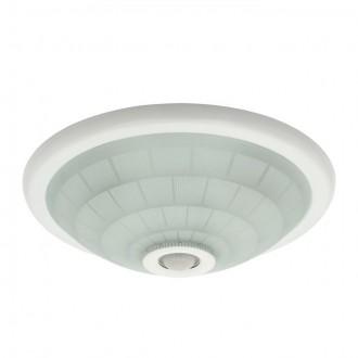 KANLUX 18120 | Fogler Kanlux zidna, stropne svjetiljke svjetiljka okrugli sa senzorom 2x E27 bijelo