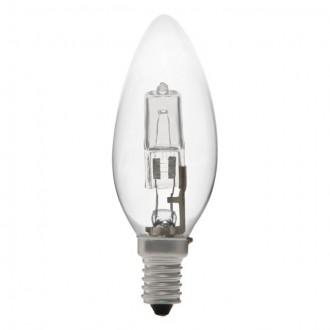 KANLUX 18440 | E14 28W -> 37W Kanlux oblik svijeće C35 halogen žarulja Ecohalo 370lm 2700K