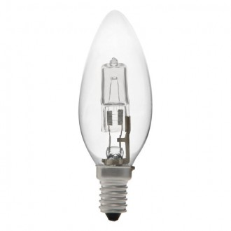 KANLUX 18441 | E14 42W -> 55W Kanlux oblik svijeće C35 halogen žarulja Ecohalo 624lm 2700K