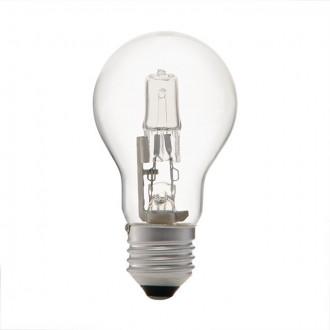 KANLUX 18454 | E27 100W -> 130W Kanlux obični A55 halogen žarulja Ecohalo 1800lm 2700K