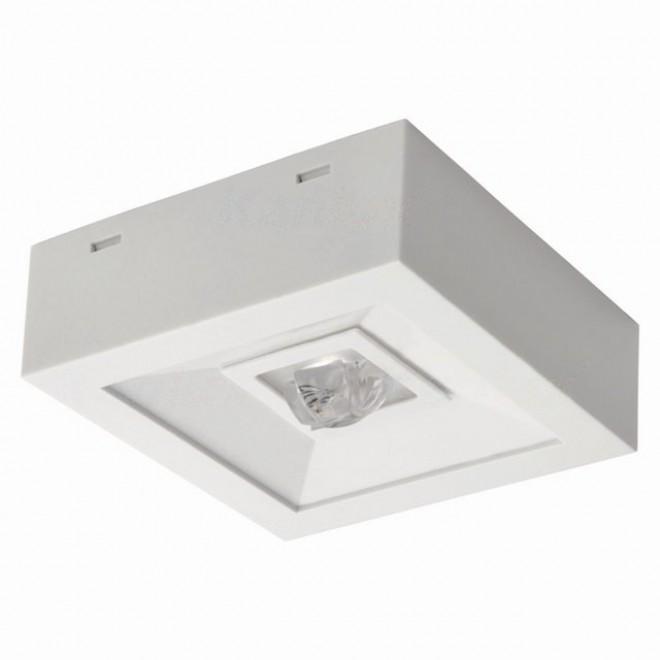KANLUX 18645 | Tric-Powerled-NT Kanlux panik lampa svjetiljka može se montirati na zid ili na strop 1x LED 200lm 6000-8000K IP41 bijelo
