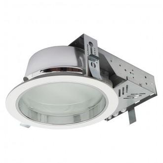 KANLUX 18671 | Perfo Kanlux ugradbene svjetiljke - snažnozračne svjetiljke svjetiljka okrugli Ø240mm 2x G24q-2 / T2U/4P IP44 bijelo