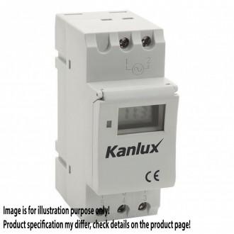 KANLUX 18721 | Kanlux timer DIN35 modul sa astronomskom funkcijom bijelo