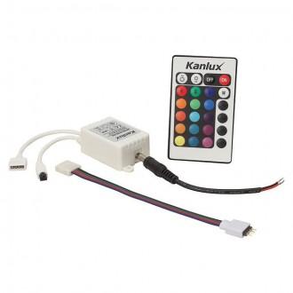 KANLUX 18960 | Kanlux upravljač RGB LED IR pravotkutnik bijelo