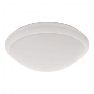 KANLUX 19060 | Daba Kanlux zidna, stropne svjetiljke svjetiljka okrugli sa senzorom 1x LED 1000lm 4000 - 4500K IP44 IK10 bijelo