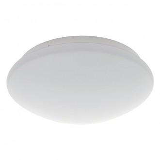 KANLUX 19061 | Daba Kanlux zidna, stropne svjetiljke svjetiljka okrugli sa senzorom 1x LED 580lm 4000 - 4500K IP40 IK07 bijelo