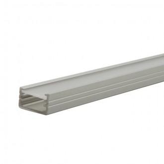 KANLUX 19161 | Kanlux aluminijski led profil B - bez sjenila - 1m za max. 8 mm LED trake aluminij