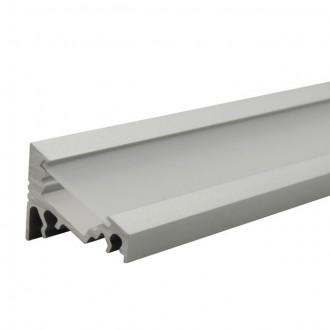 KANLUX 19162 | Kanlux aluminijski led profil C - bez sjenila - 1m za max. 10 mm LED trake aluminij