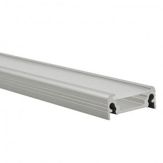 KANLUX 19163 | Kanlux aluminijski led profil D - bez sjenila - 1m za max. 10 mm LED trake aluminij