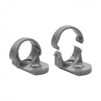 KANLUX 19190 | Kanlux pričvrščivač + završna kapa A dvodijelni set aluminij