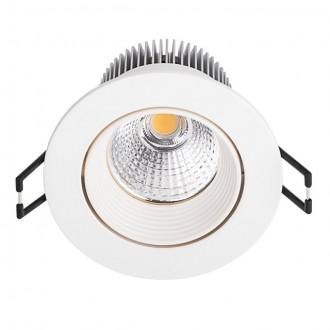 KANLUX 19910 | Estilio Kanlux ugradbene svjetiljke - snažnozračne svjetiljke svjetiljka okrugli pomjerljivo Ø83mm 1x LED 460lm 2700 - 3200K krem