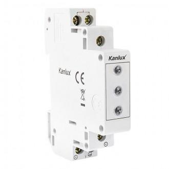 KANLUX 22070 | Kanlux Kontrolni indikator LED RGB 3in1 svjetlo siva