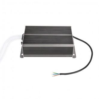 KANLUX 22082 | Kanlux LED napojna jedinica 12V DC 4x50W 16,66A pravotkutnik toplinski osigurač IP66 grafit