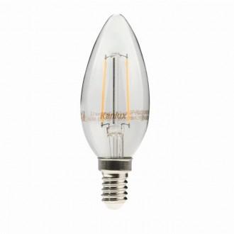 KANLUX 22466 | E14 2W -> 23W Kanlux oblik svijeće C35 LED izvori svjetlosti filament 230lm 2700K 300° CRI>80