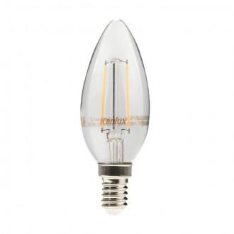 KANLUX 22469 | E14 4W -> 35W Kanlux oblik svijeće C35 LED izvori svjetlosti filament 400lm 2700K 360°