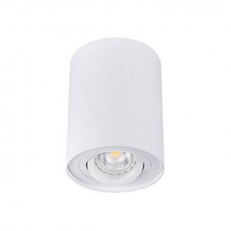 KANLUX 22551 | Bord Kanlux stropne svjetiljke svjetiljka cilindar izvori svjetlosti koji se mogu okretati 1x GU10 bijelo