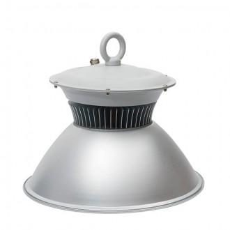 KANLUX 22870 | Euro-LED Kanlux LED svjetiljka za hale svjetiljka vilasti utikač - bez utikača 1x LED 7600lm 4000K IP65 sivo, aluminij