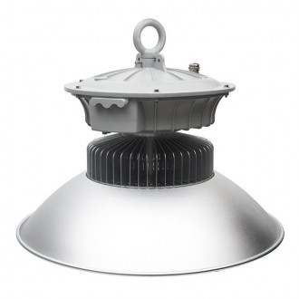 KANLUX 22871 | Euro-LED Kanlux LED svjetiljka za hale svjetiljka vilasti utikač - bez utikača 1x LED 9100lm 4000K IP65 sivo, aluminij