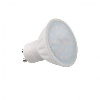 KANLUX 22910 | GU10 5W -> 34W Kanlux spot LED izvori svjetlosti TRIColor 400lm 2700 - 4000 - 6500K sa podešavanjem temperature boje 120° CRI>80