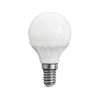 KANLUX 23042 | E14 5W -> 37W Kanlux mala kugla G45 LED izvori svjetlosti SMD 420lm 3000K 200° CRI>80
