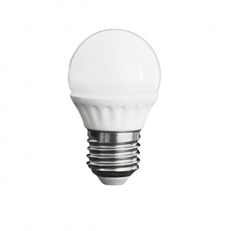 KANLUX 23043 | E27 5W -> 37W Kanlux mala kugla G45 LED izvori svjetlosti SMD 420lm 3000K 200° CRI>80