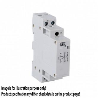 KANLUX 23240 | Kanlux relej DIN35 modul - 1, 20A/7A - 20 svjetlo siva