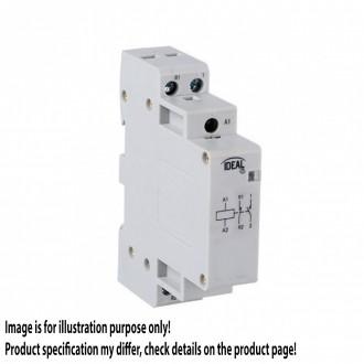 KANLUX 23244 | Kanlux relej DIN35 modul - 1, 20A/7A - 11 svjetlo siva
