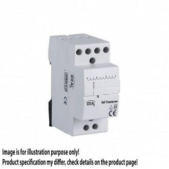 KANLUX 23260 | Kanlux zvona koja se mogu montirati na šine transformator DIN35 modul, 8V/12V/24V svjetlo siva