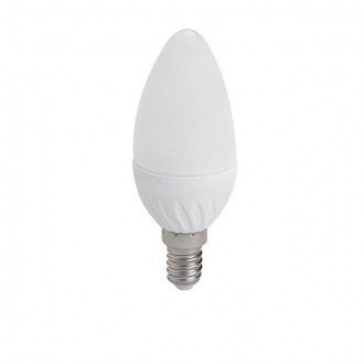 KANLUX 23380 | E14 4,5W -> 35W Kanlux oblik svijeće C38 LED izvori svjetlosti SMD 400lm 3000K 230°
