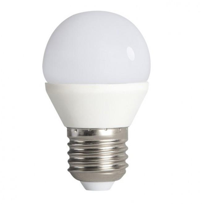 KANLUX 23420 | E27 6,5W -> 48W Kanlux mala kugla G45 LED izvori svjetlosti SMD 600lm 3000K 200°