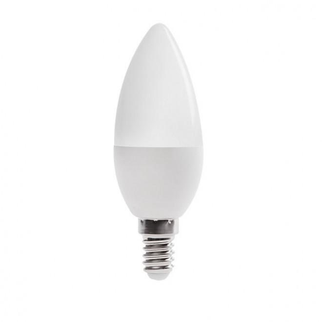 KANLUX 23430 | E14 6,5W -> 48W Kanlux oblik svijeće C37 LED izvori svjetlosti SMD 600lm 3000K 210°