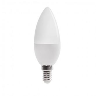 KANLUX 23431 | E14 6,5W -> 48W Kanlux oblik svijeće C37 LED izvori svjetlosti SMD 600lm 4000K 210°
